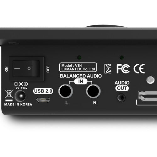 Lumantek ez-Pro VS4 4x1 Multiview Switcher for 3G-SDI and HDMI