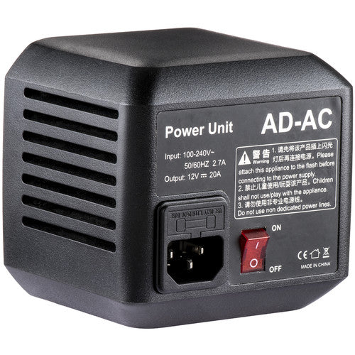 Godox AD-AC Adapter for AD600 1st Version (Not Compatible in AD600 Pro)