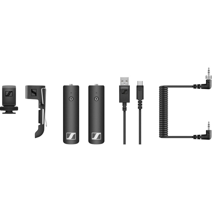 Sennheiser XSW-D PORTABLE BASE SET Digital Camera-Mount Wireless Bodypack Microphone System