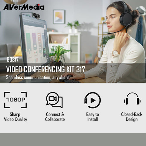 AVerMedia B0317 VIDEO CONFERENCING KIT