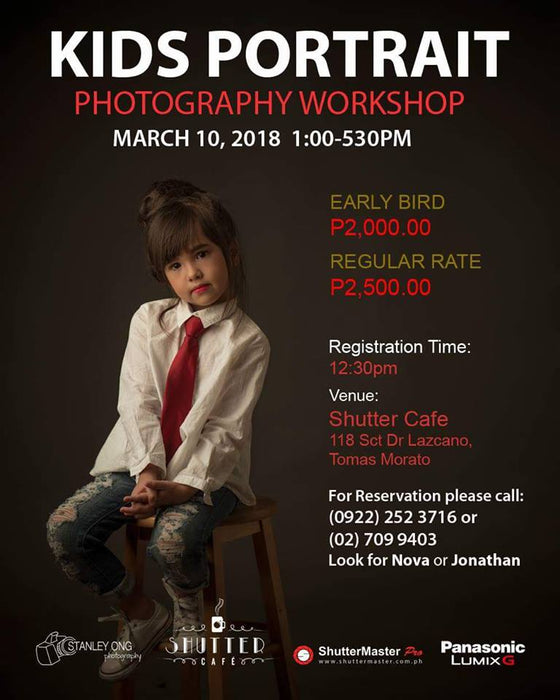 Kids Portrait Photography Workshop