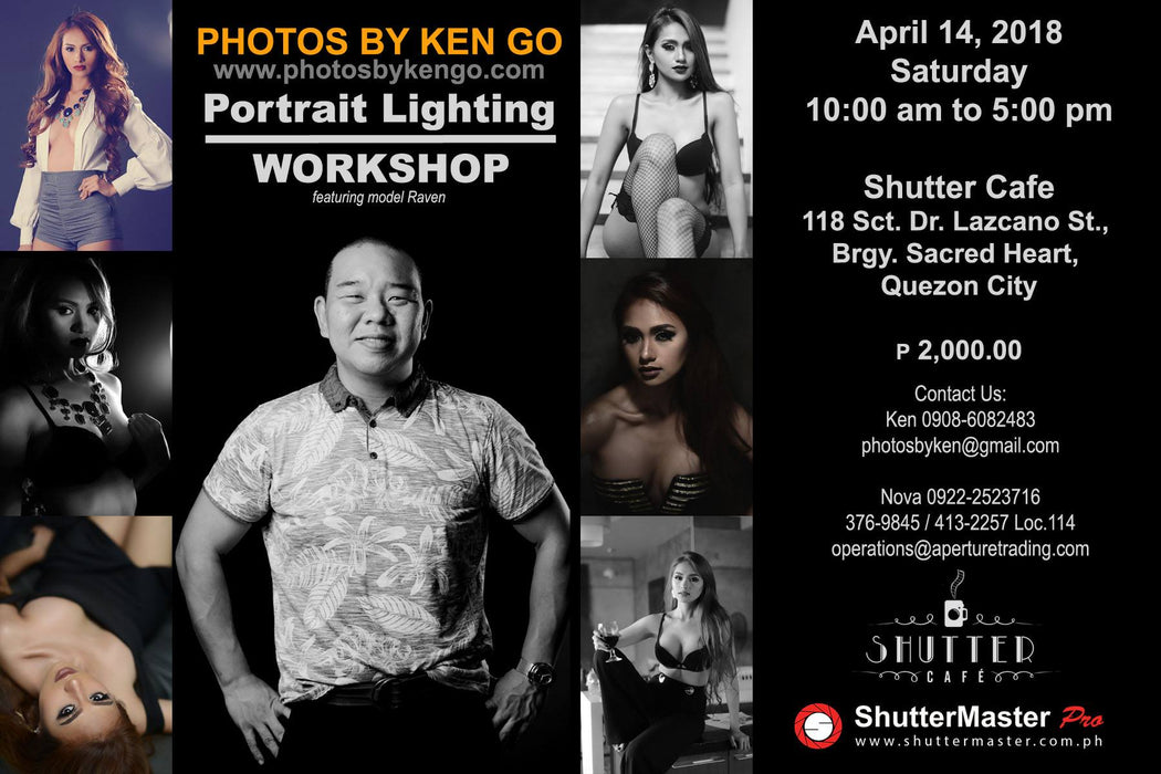 Portrait Lighting Workshop by Ken Go