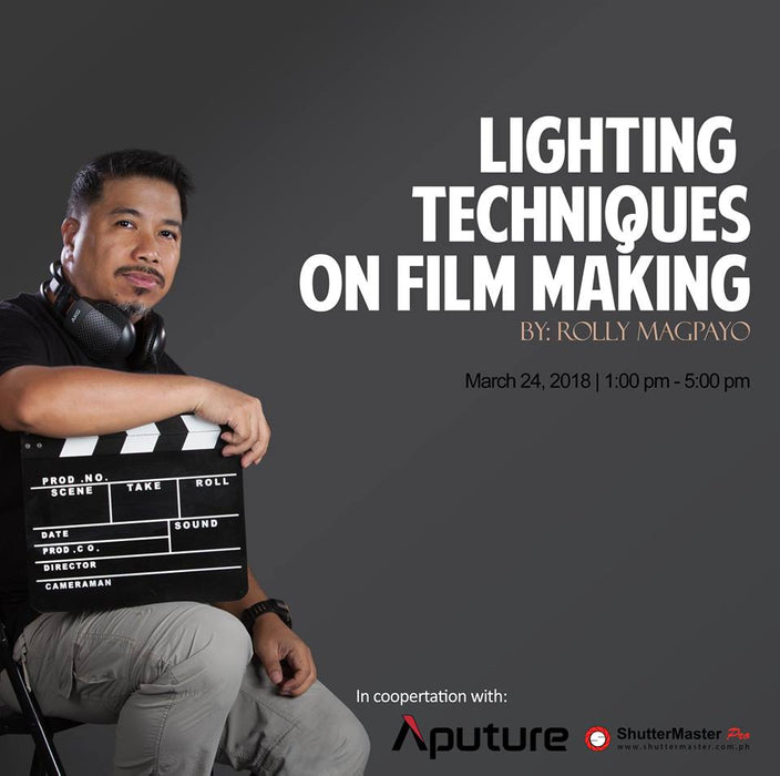 Lights . Camera. Action Introduction to your Film Making Career - Sponsored by Aputure