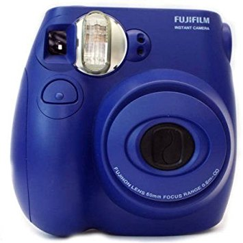 Fujifilm Instant Camera Instax Mini 7S w/ 2x minifilm & pouch Blue (By order Basis)