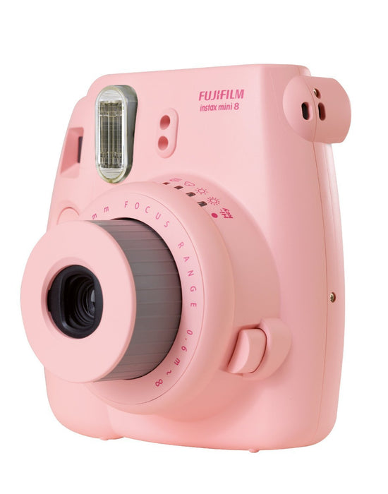 Fujifilm Instant Camera Instax Mini 8 Pink (By Order Basis)