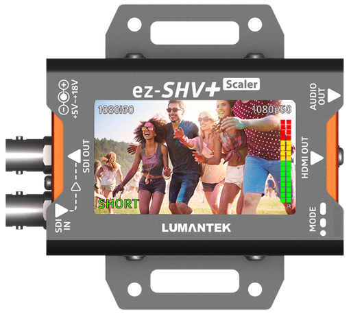 Lumantek ez-SHV+ SDI to HDMI Converter with Display