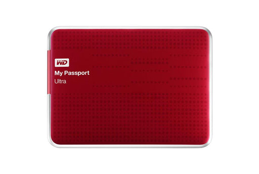 Western Digital Passport 1TB (Red) (By Order Basis)