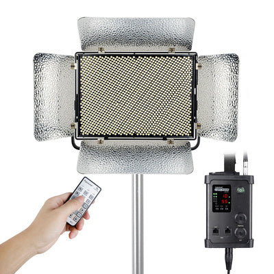 Aputure LS-1C LED Light with Wireless Controller Box and Sony V-Mount Battery Plate