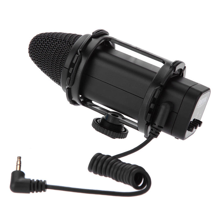 Boya BY-V02 Compact External Stereo Video Microphone