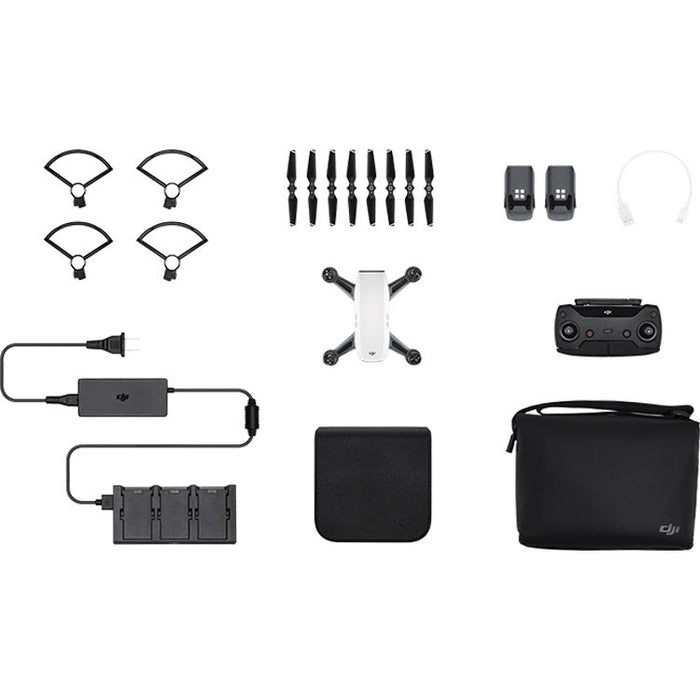 DJI Spark Fly More Combo (Alpine White) By Order Basis