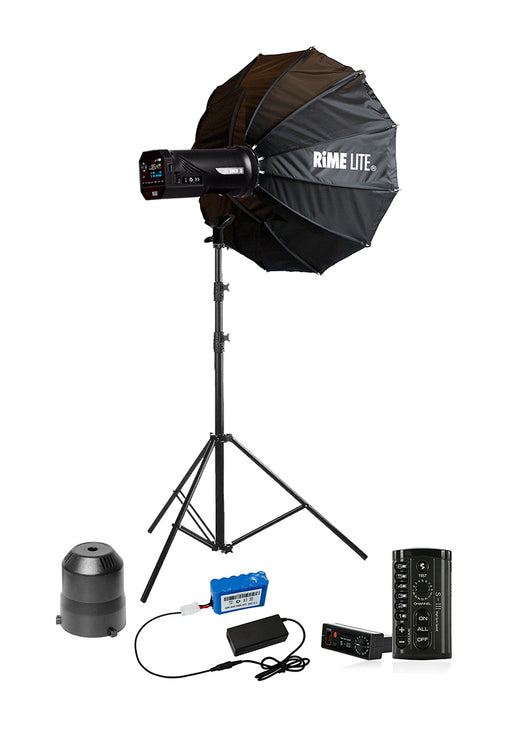 Rimelite Ni.4 Battery Operated Studio Package (400 watts) Studio Strobe Light