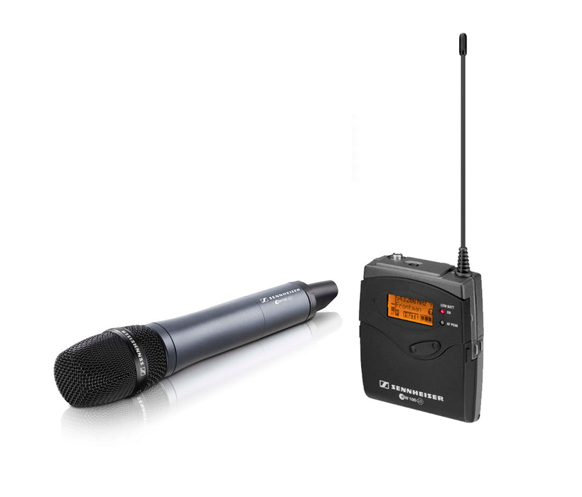Sennheiser EW 135-P G3 Camera Mount Wireless Microphone System with 835 Handheld Mic