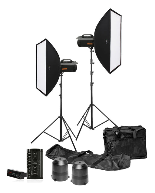 Rimelite Fame 600e Studio Flash Kit (600 watts) Studio Strobe Light