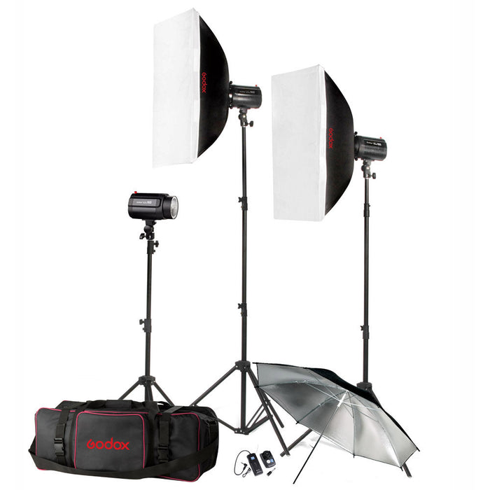 Godox H160-B Studio Flash Strobe Flash Kit Studio Strobe Package 160 watts