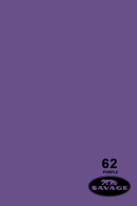 "Savage Widetone Seamless Background Paper (#62 Purple, 53"" x 36')"