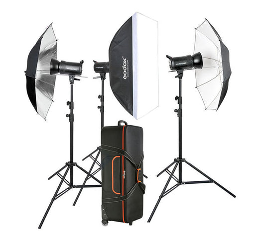 Godox SKII 300-D  300watts Studio Strobe Package 300 watts (Built-in 2.4 GHz wireless receiver)
