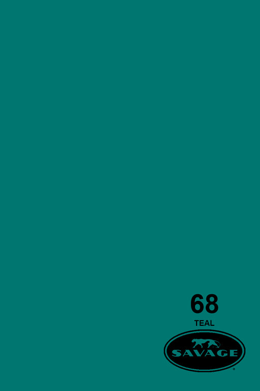 Savage Widetone Seamless Background Paper (#68 Teal, 9ft x 36ft)