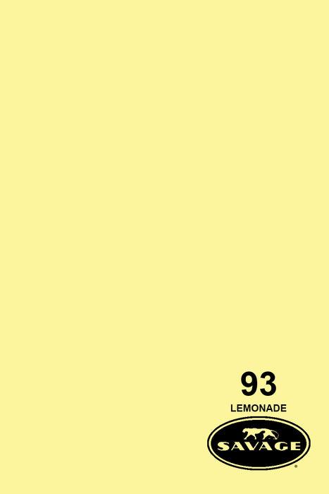 Savage Widetone Seamless Background Paper (#93 Lemonade, 9ft x 36ft)
