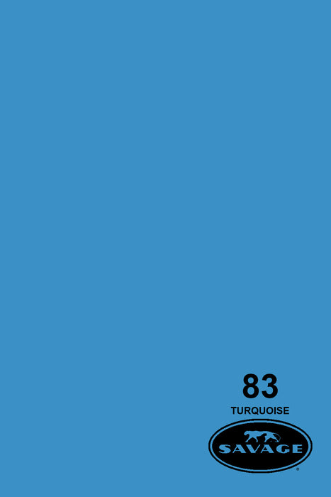 Savage Widetone Seamless Background Paper (#83 Turquoise, 9ft x 36ft)