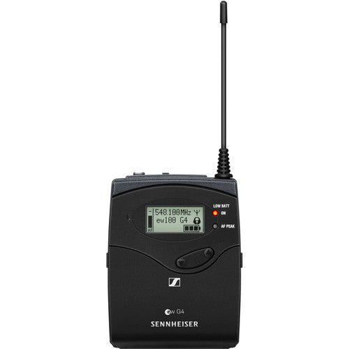 Sennheiser ew 112P G4 Camera-Mount Wireless Microphone System with ME 2-II Lavalier Mic B: (626 to 668 MHz)