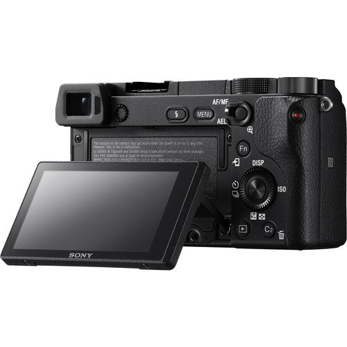 Sony Alpha a6300 Mirrorless Digital Camera with 16-50mm Lens (Black) (by order basis)