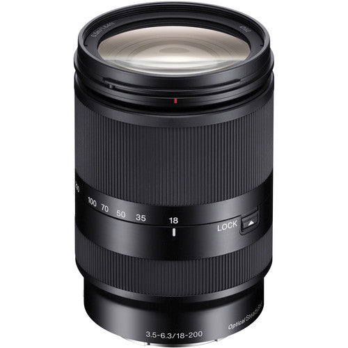 Sony E 18-200mm f/3.5-6.3 OSS LE Lens (by order basis)