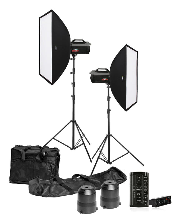 Rimelite Digital i.4A AC Studio Package (400 watts) Studio Strobe Light