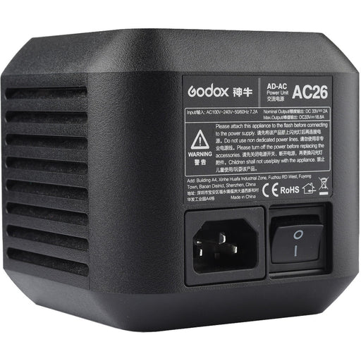 Godox AC-26 Adapter for AD600Pro Witstro Outdoor Flash