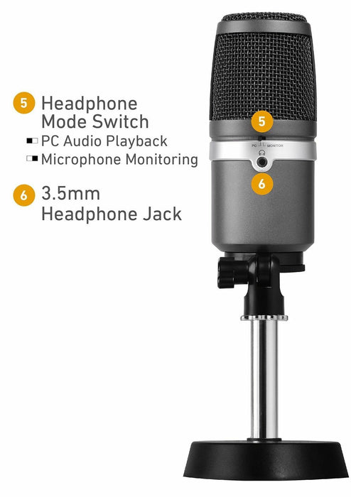 AVerMedia AM310 USB Multipurpose Microphone