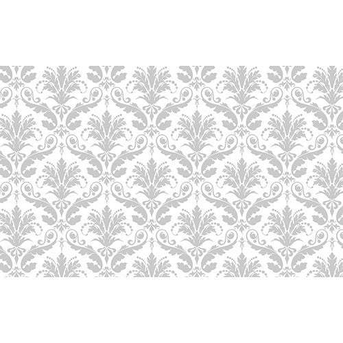 "Savage Printed Background Paper (53"" x 18', Gray Floral) P-PA5318GFL"