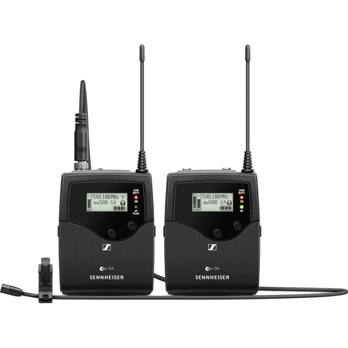 Sennheiser EW 512P G4 Camera-Mount Wireless Omni Lavalier Microphone System