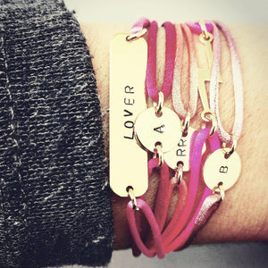 initialen armband