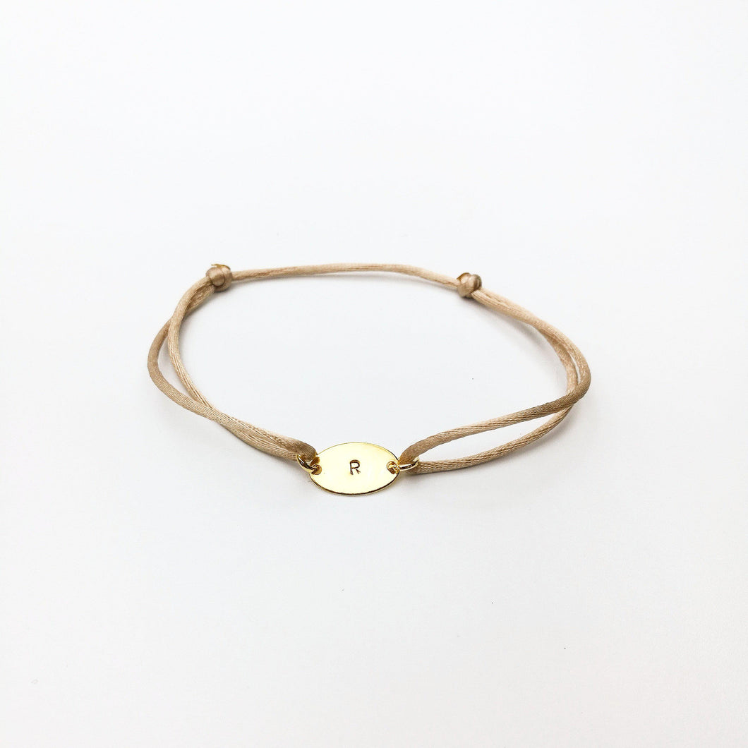 initiaal armband lux & luz