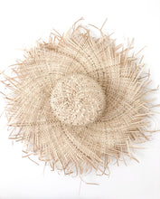 Coastal Boho Seagrass Hat Decor