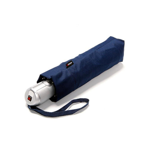Folded Knirps Duomatic Large Umbrella - Navy