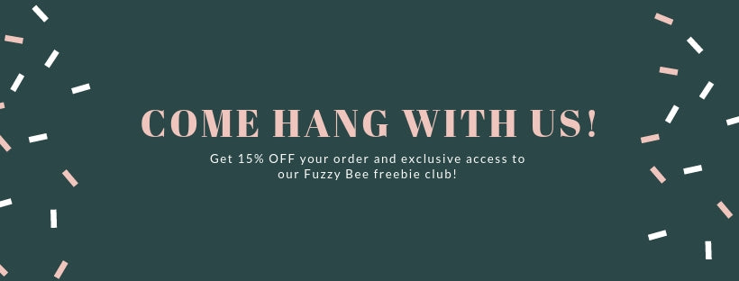 Fuzzy Bee Newsletter