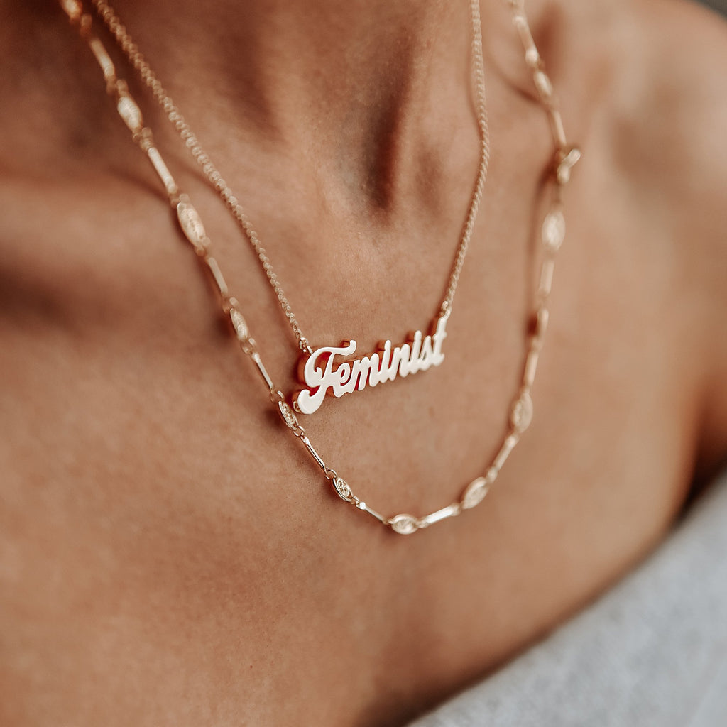 Autumn Roundup: Feminist Necklace