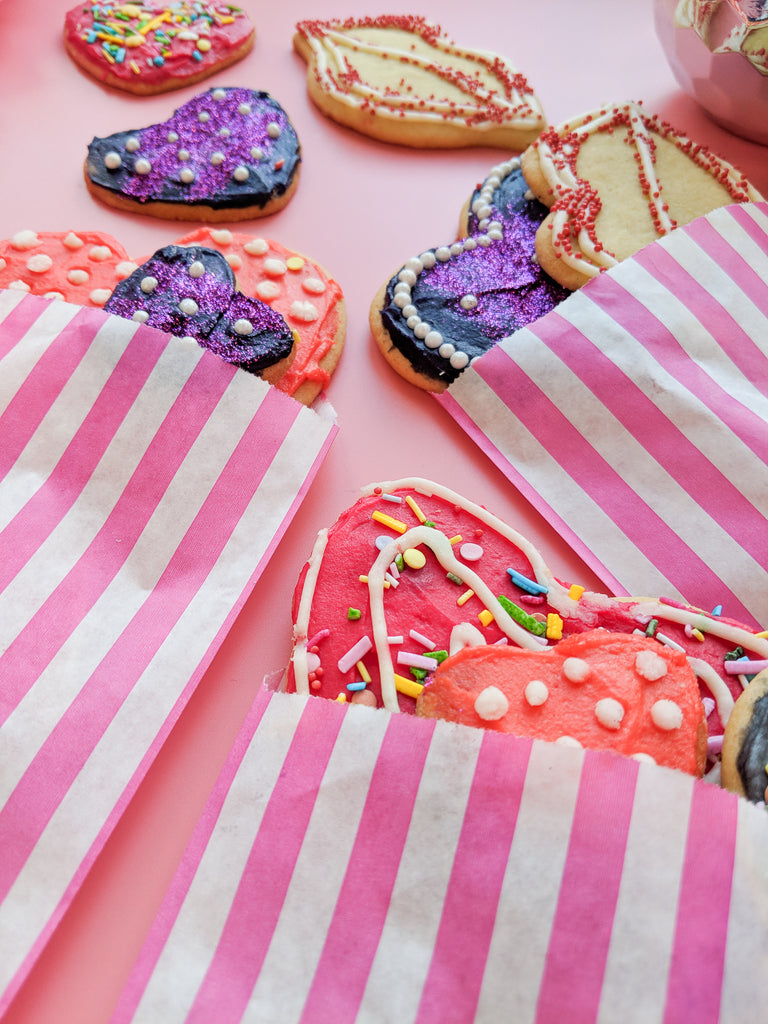 Valentine Sugar Cookies by The Fuzzy Bee