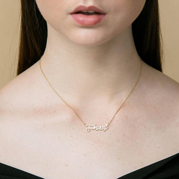 Feminist Necklace
