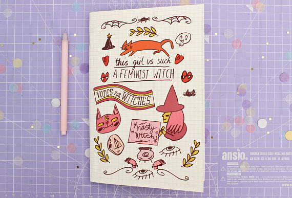 Feminist Witch Notebook