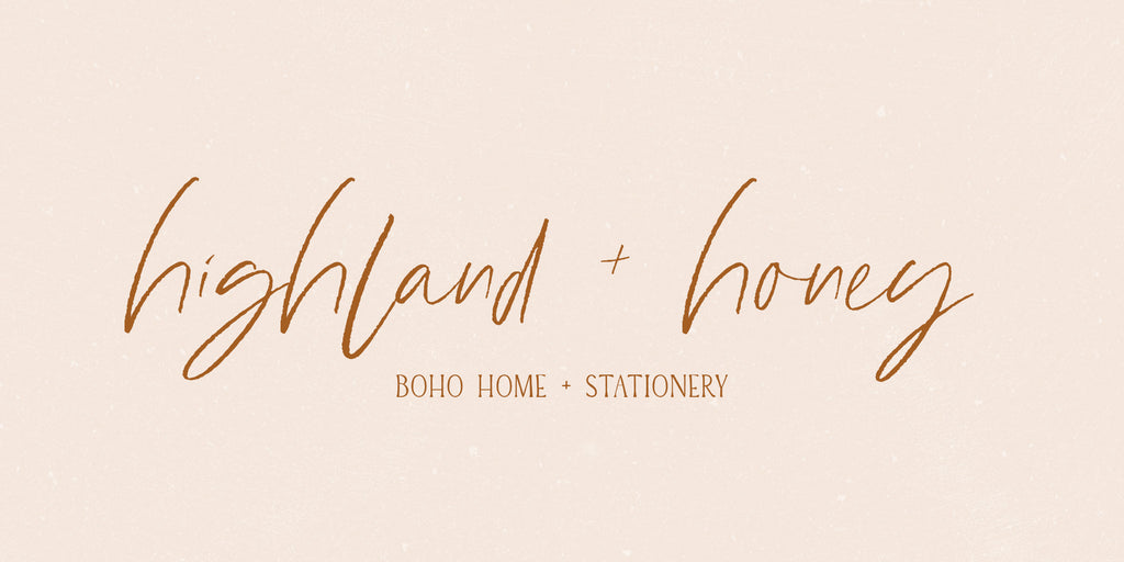 Highland + Honey: Learn About The New Brand Name