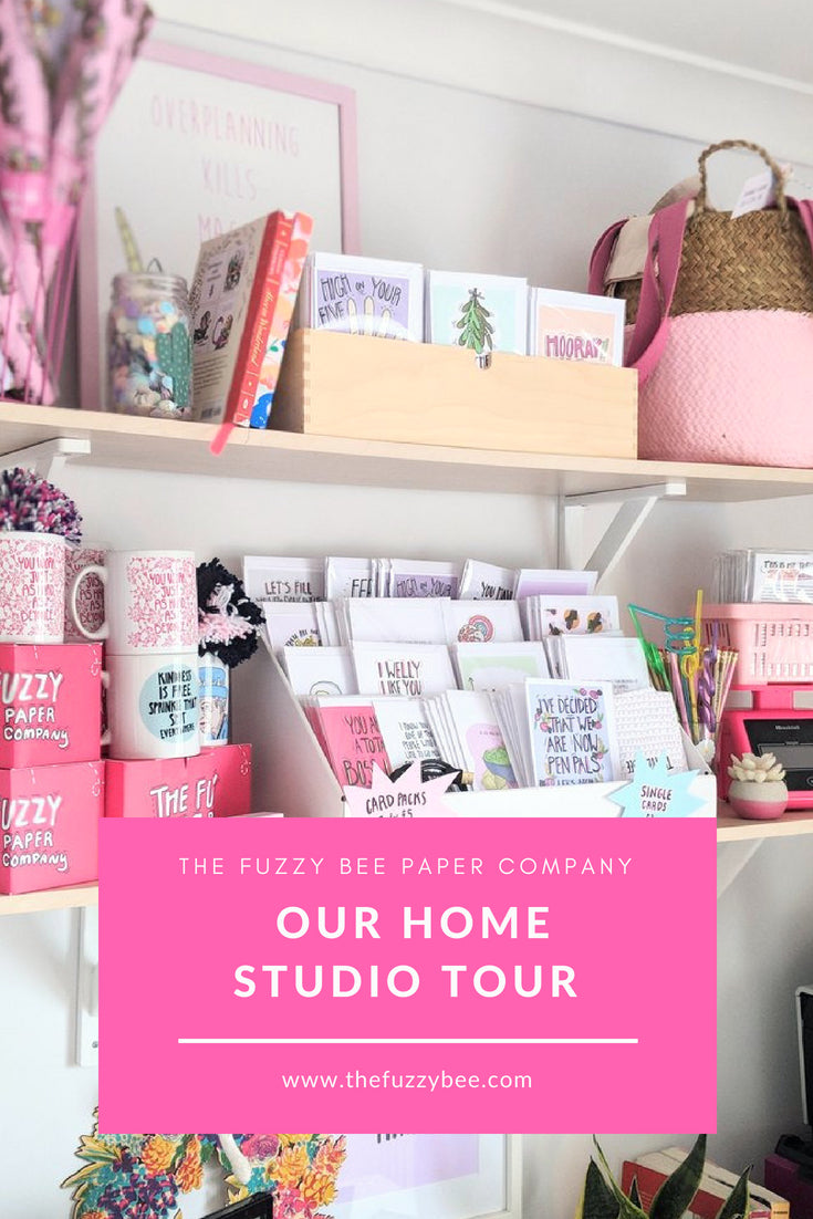 Fuzzy Bee Studio Tour