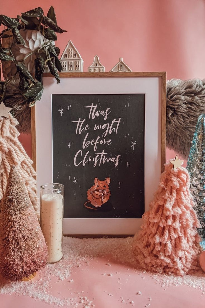 'Twas The Night Before Christmas' Art Print