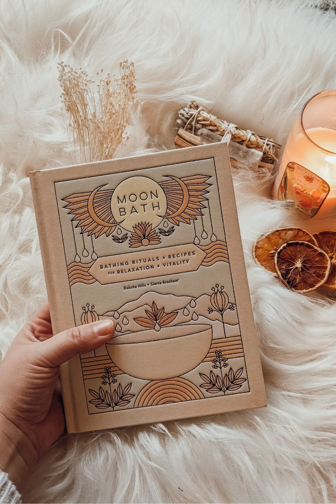 Moon Bath Book