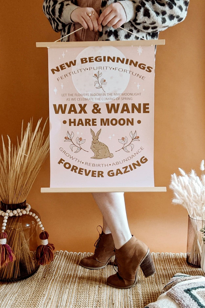 Celebration Of Spring + The Hare Moon Graphic Print