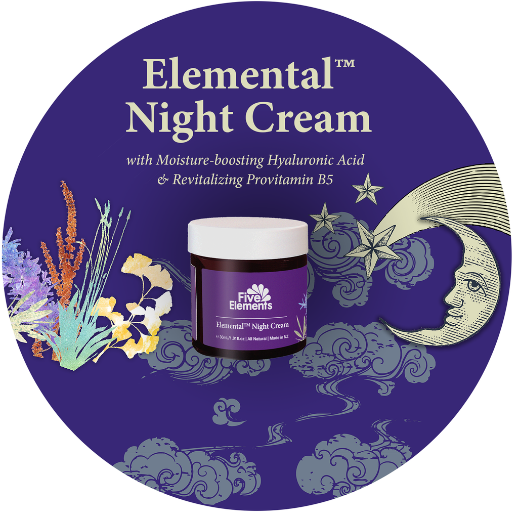 New Elemental Night Cream: Become more beautiful while you sleep!