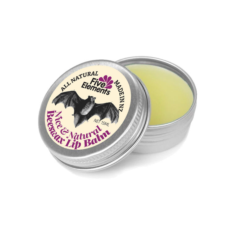 Natural Lip Balm - Nice & Natural Beeswax