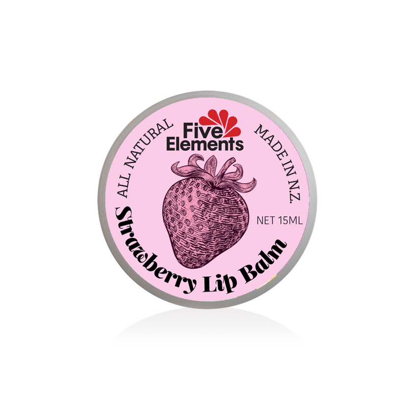 Natural Lip Balm - Strawberry