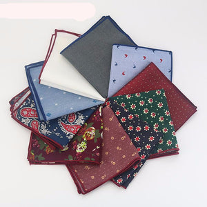 Casual Men's Polka Dot Handkerchief