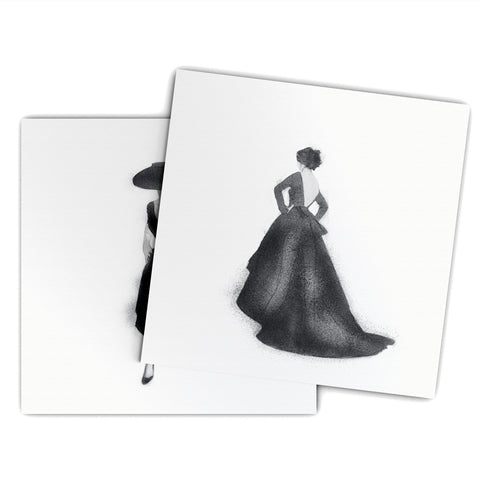 J'Adore Grand Dior Blank Greeting Card